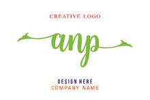ANP Lettering Logo Is Simple, Easy To Understand And Authoritative
