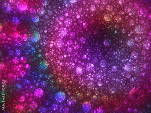 Foto abstract look different colors strange background horror virus