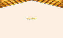 Abstract Background Brown And Gold Design