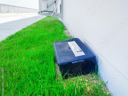 Fotografia Outdoor rat trap.