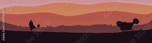 Star Wars - Mandalorian Dualscreen Wallpaper HD