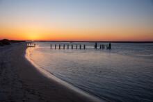 Sunset On Topsail Island