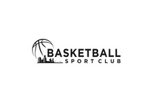 Basketball Logo Design, Basketball Ball Soprts Ball.