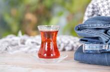 Turkish Black Tea In Winter