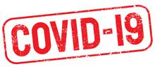 Covid 19 Coronavirus Rubber Stamp