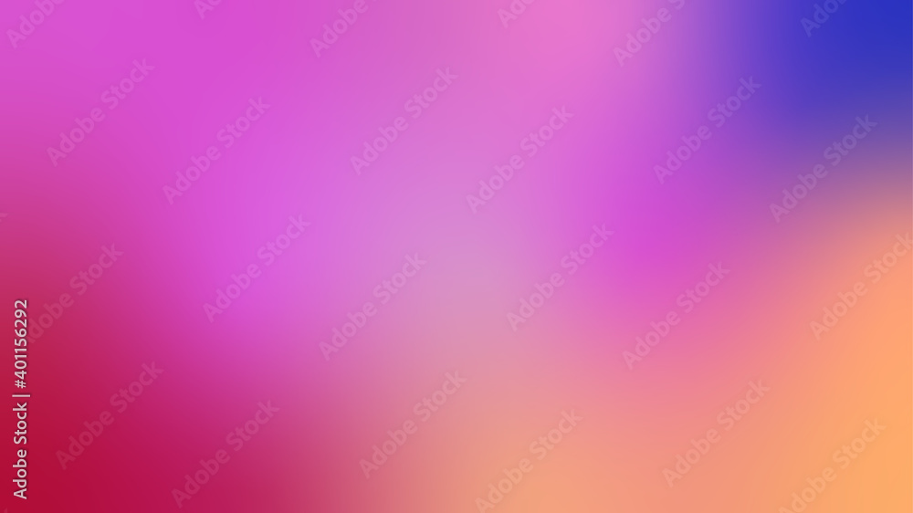 Fototapeta Abstract light neon soft glass background texture in vibrant colorful gradient.