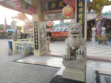 Chinese Lion Statue City