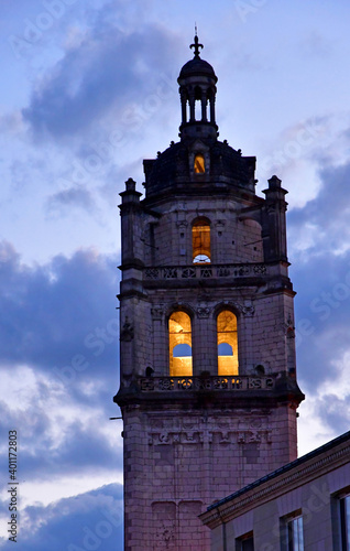 Wallpaper Mural Loches; France - july 15 2020 : Saint Antoine tower