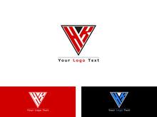 HK H K Letter Logo, Hk Logo Image Vector