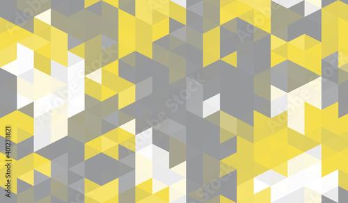 seamless-illuminating-yellow-geometric-triangle-square-pattern
