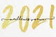 2021 - Bonne année - meilleurs vœux