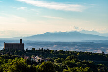 Church Of Santi Giusto And Clemente - An Overview From Volterra