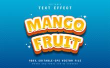 Mango Fruit Text Effect