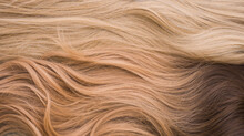 Wigs, Natural And Synthetic Hair. Women's Beauty Concept. Close Up Photo Of Wig, Hair For Ladies