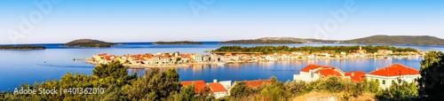 Krapanj Island Panorama, Croatia