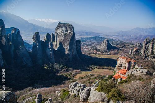 Fototapeta Meteora Monasteries in Greece