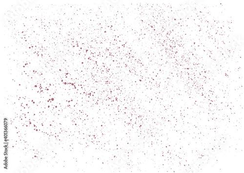 Obraz Distressed Effect. Old vintage scratches, stain, paint splats, spots, stripes - fototapety do salonu