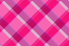 Vector Illutration Pink And Purple Plaid Digital Paper