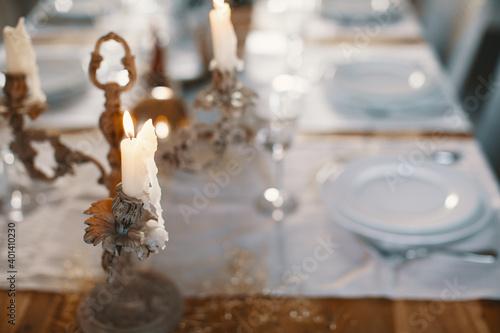 Photo Table de Nouvel An (Noël)