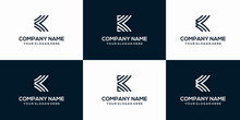 K Letter Vector Logo Abstract Template