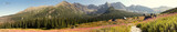 Panorama Tatr widok na Halę Gąsienicową