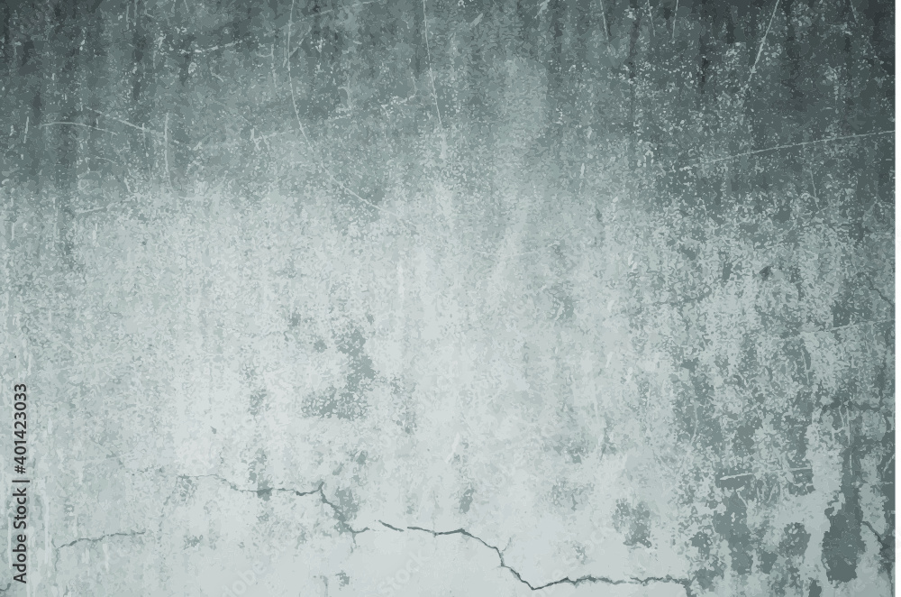 Fototapeta Abstract industrial styled concrete wall, vector.