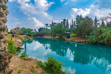 Natural Warm Water Pool In Gan HaShlosha National Park
