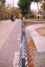 Embankment Of The City Of Samara Late Autumn