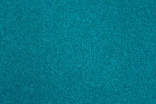 Turquoise Blue Of Fur Leather Hairy Texture Background. Image Photo