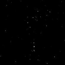 Night Star Sky With Orion Nebula, Alnitak, Alnilam And Mintaka Stars