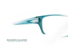 Close Up Shot Of Reading Glasses On White Background