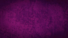 Purple Pink Stone Concrete Paper Texture Background With Dark Vignette