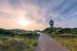 canvas print picture - Wasserturm auf Langeoog