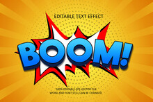 Colorfull Comic Font Editable Text Effect