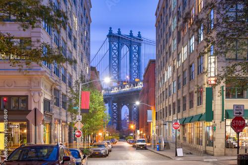 Photo Brooklyn Bridge from Brooklyn