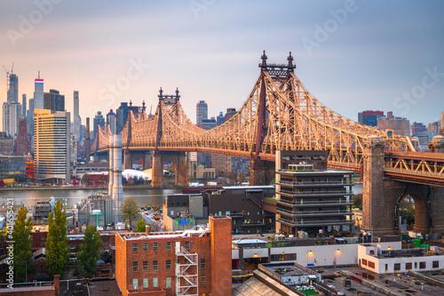 Obraz na plátně New York City Skyline from Queens