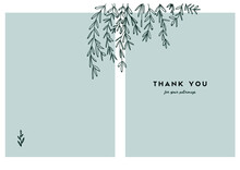 Thank You Card, Beautiful Design
