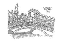 Venice Italy Illustration