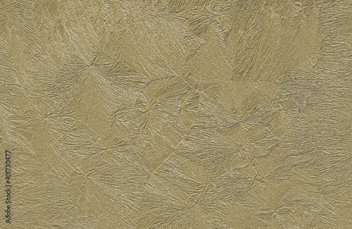 Obraz na plátne A gilded background with a delicate embossed pattern