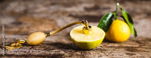 Obraz Profumo essenziale al bergamotto - fototapety do salonu
