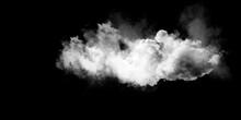 Smoke Overlays On Black Background