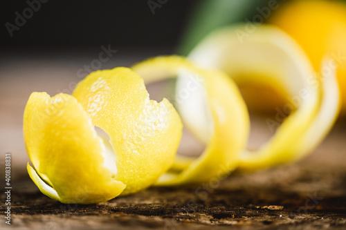 Photo scorza o buccia di bergamotto di Calabria