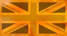 Flag Of The United Kingdom (UK) Aka Union Jack With British Marm