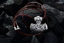 Viking Metal Jewelry Decoration On Dark Background