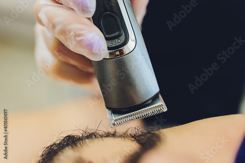 Canvastavla hair and beard styling