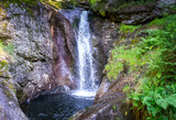 Hochfall Wasserfall im bayerischen Wald Deutschland