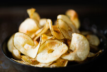 Rustic English Pub Grub Ribbon Cut Potato Crisps