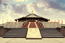 Mingtang Is An Ancient Building In The Tang Dynasty And A Place Of Worship In Ancient Times. Luoyang, China.