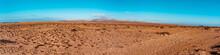 Beautiful Landscape Desert. Fuerteventura, Canary Islands, Spain