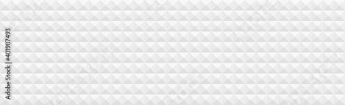 Obraz Abstract white background consisting of triangles and squares - Vector - fototapety do salonu